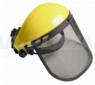 Arcvédő látómező, rácsos, homlokvédővel