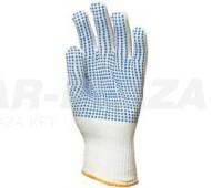 Csúszásbiztos védőkesztyű - kék (12 pár)
