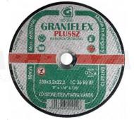 Graniflex, Kővágókorong 125x3.2 (zöld)