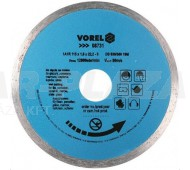VOREL 08732 Gyémánttárcsa 125mm - folyamatos
