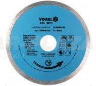 VOREL 08734 Gyémánttárcsa 180mm - folyamatos