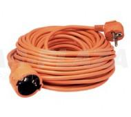 Kábel hosszabbító - 10 m, narancs