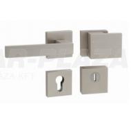 Tupai Square-Cubo, nikkel perla, négyzetrozettás biztonsági garnitúra cilindervédővel