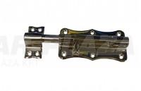AMIG 384/100 tolózár, Nikkelezett 100 mm-es