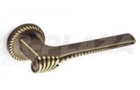 Mandelli Chora, matt bronz, körrozettás