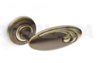 Mandelli Olly, matt bronz, körrozettás