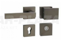 Tupai Square-Cubo, titán, négyzetrozettás biztonsági garnitúra cilindervédővel