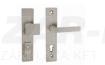 Tupai Forte, nikkel perla, biztonsági garnitúra cilindervédővel