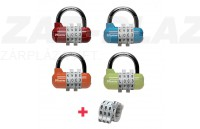 Master-Lock 1534 EURD, kombinációs lakat