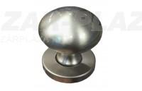 Szatén-nikkel gomb