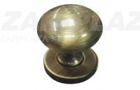 Bronz színű gomb
