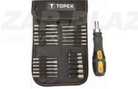 Topex 39D352, csavarhúzó készlet